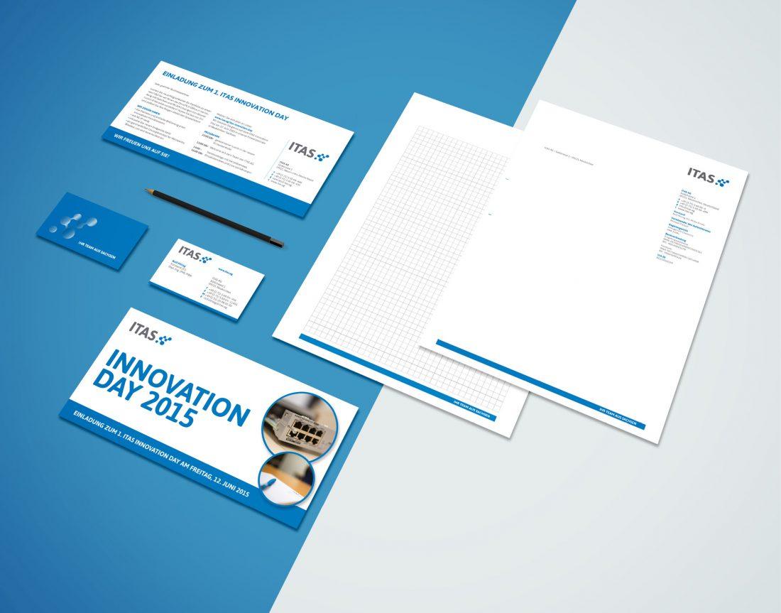 ITAS - Corporate Design, Geschäftsausstattung