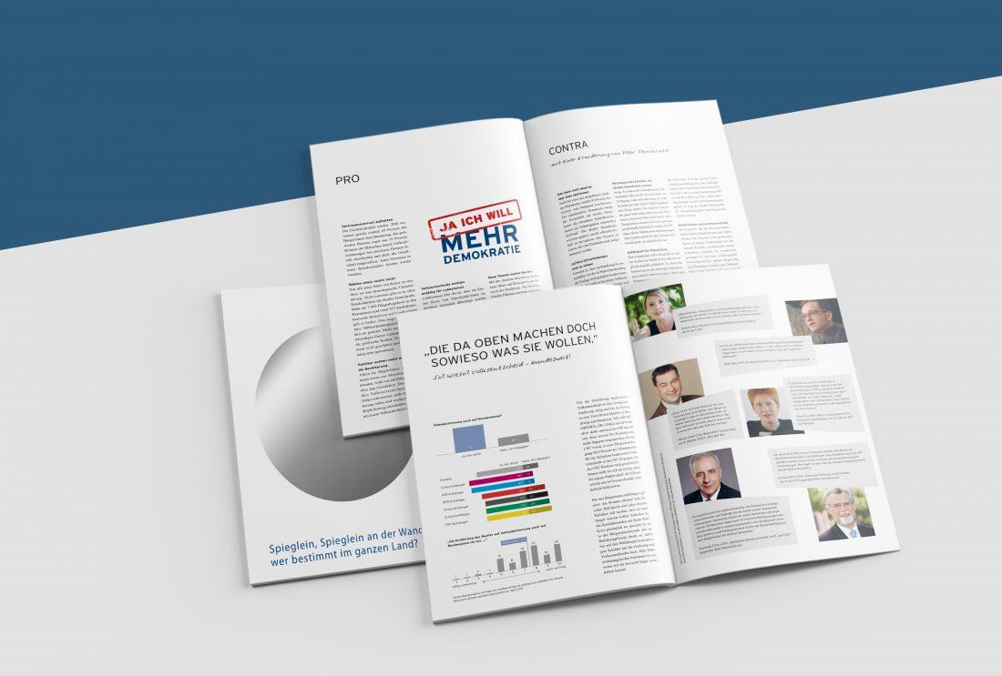 Mehr Demokratie - Broschüre