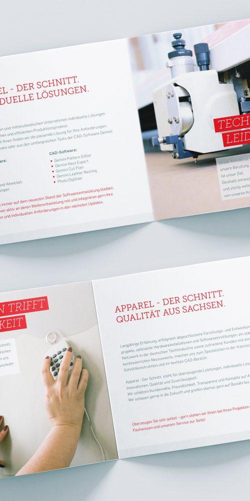 Apparel - Der Schnitt. Flyer