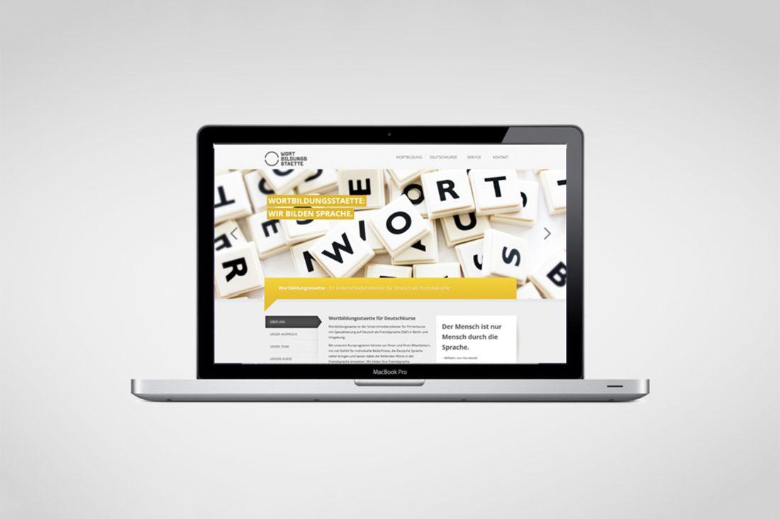 Wortbildungsstaette - Website
