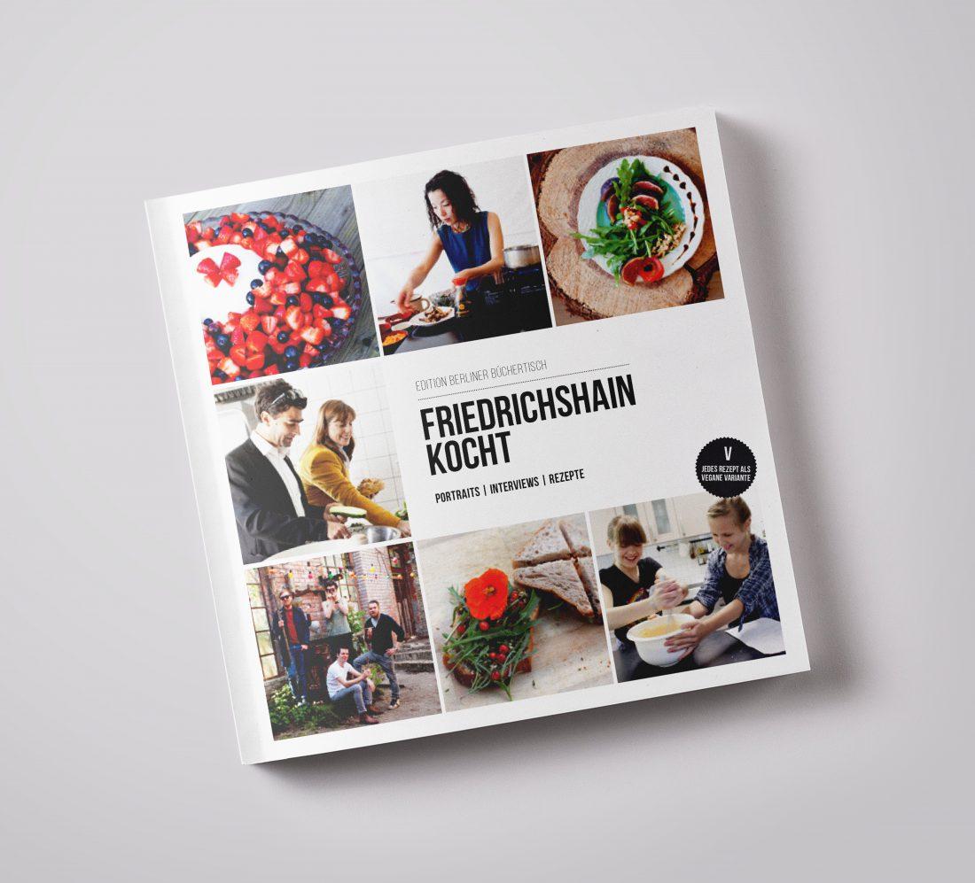 Friedrichshain kocht - Buch Cover